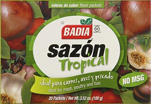 Badia Sazon Tropical with Cilantro Spices, 3.52 Ounce by Badia