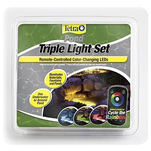 Triple Led Pond Light Set