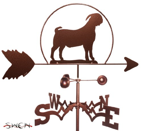 SWEN Products Hand Made Boer Goat Weathervane ~New~