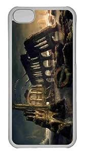 Customized iphone 5C PC Transparent Case - Underground Personalized Cover