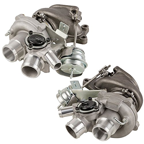 Pair Turbo Kit With New Turbochargers For Ford F-150 Ecoboost 3.5L 2010-2012 - BuyAutoParts 40-80242IK New