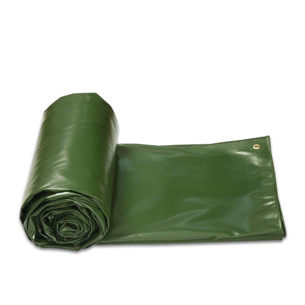 Thick Heavy Duty Wasserdichte Plane Grün Waterproof Sonnencreme Markise Tuch Linoleum Outdoor Canvas