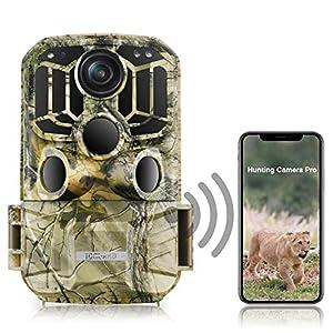 TOGUARD WiFi Trail Camera 20MP 1296P Game Camera