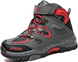 AShion Boys & Girls' Hiking Shoes Outdoor Athletic Sneakers Breathable All Seasons Boots