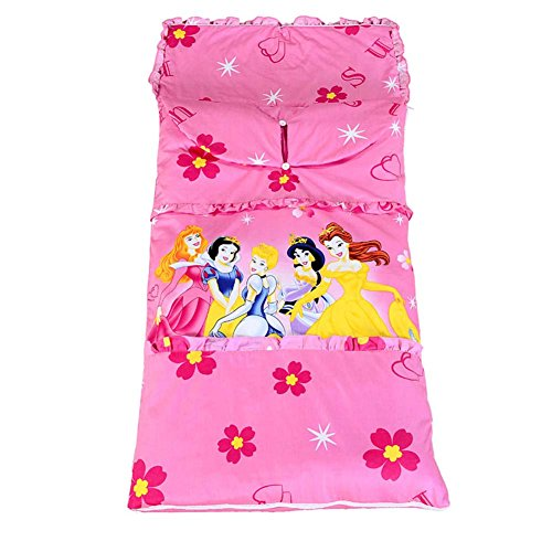 Sport do All Seasons Princess Pink Thicken Anti-kicking Sleeping Bag Pure Cotton Shoulder Pads Design Five Sizes (Jake And The Neverland Pirates Sleeping Bag)