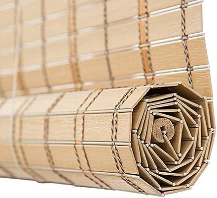 Estores Enrollables Cortina enrollable exterior impermeable, Persianas enrollables de PVC para porche al aire libre Pérgola Gazebo Patio Deck Balcón, 55/75/95/115/135 cm de ancho (Size : 115×100cm) : Amazon.es: Hogar