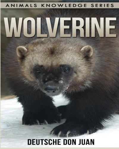 Wolverine: Beautiful Pictures & Interesting Facts Children Book About Wolverine (Animals Knowledge Series) PDF ePub fb2 book