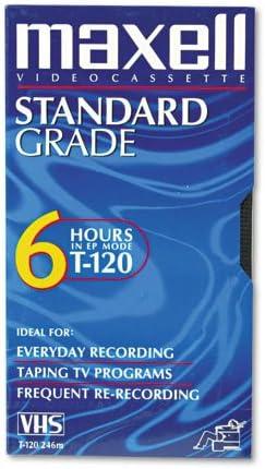 Maxell All-Purpose Standard Grade 6 Hour VHS Videotape Cassette
