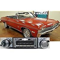 1967-1968 Chevy Impala USA-630 II High Power 300 watt AM FM Car Stereo/Radio with iPod Docking Cable