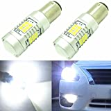Alla Lighting High Power 3035 27-SMD Super Extremely Bright 6000K White 1157 2357A