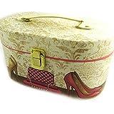 Vanity box box 'Belle Epoque'pink beige.