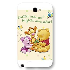 Customized Disney Series For LG G2 Case Cover Cute Cartoon Tigger For LG G2 Case Cover Only Fit For LG G2 Case Cover (White Frosted Shell)