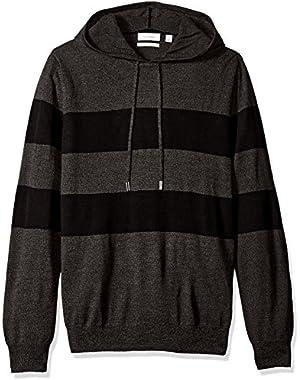 Calvin Klein Men's Merino Stripe Hoodie
