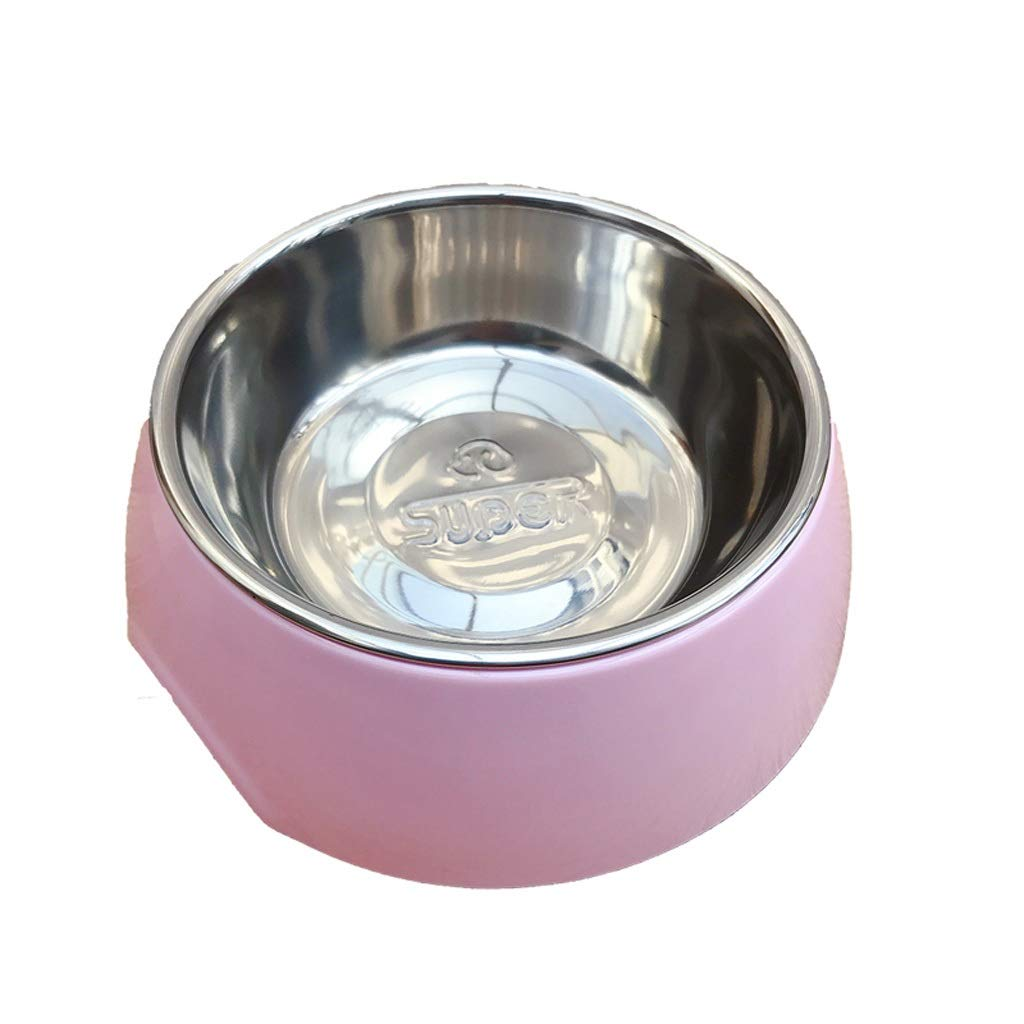 Hzpxsb Pet Dog Bowl.Detachable Stainless Steel Bowl and Melamine .Dog Cat Food and Water Bowls Stand Feeder for Cats Dogs