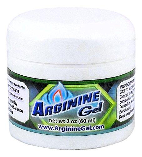 Arginine Gel with L-Arginine - 2 oz - Sexual Arousal Gel for Men and Women - Libido Booster for Women and Men - L-arginine Sexual Health