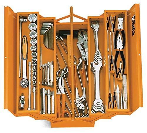 Tool Beta Box (C20-FIVE-SECTION CANTILEVER STEEL TOOL BOX, ORANGE, EMPTY)