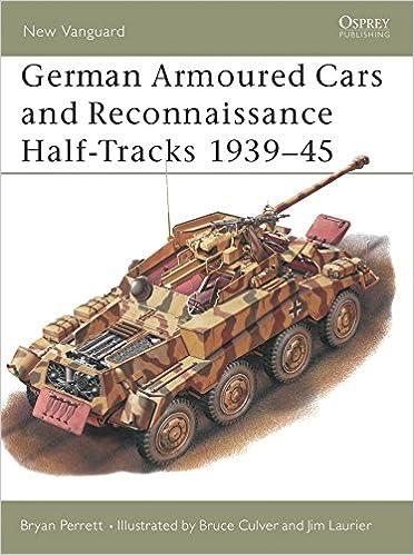 Descargar Libro Gratis German Armoured Cars And Reconnaissance Half-tracks 1939-45 PDF Gratis