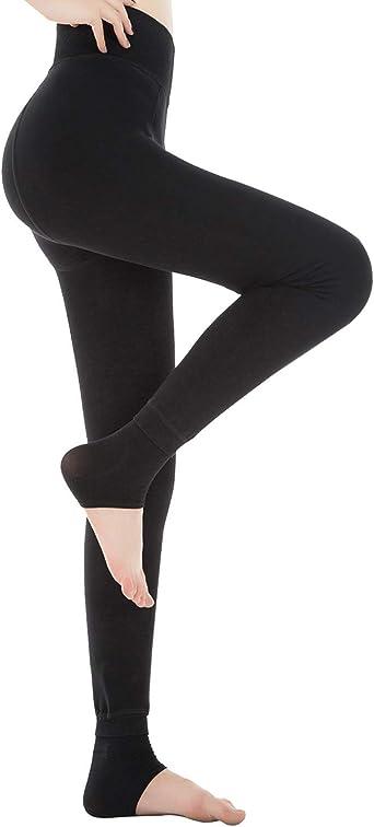 HapiLeap Femme Hiver Super épais Chaud en Velours Extensible Leggings Pantalon