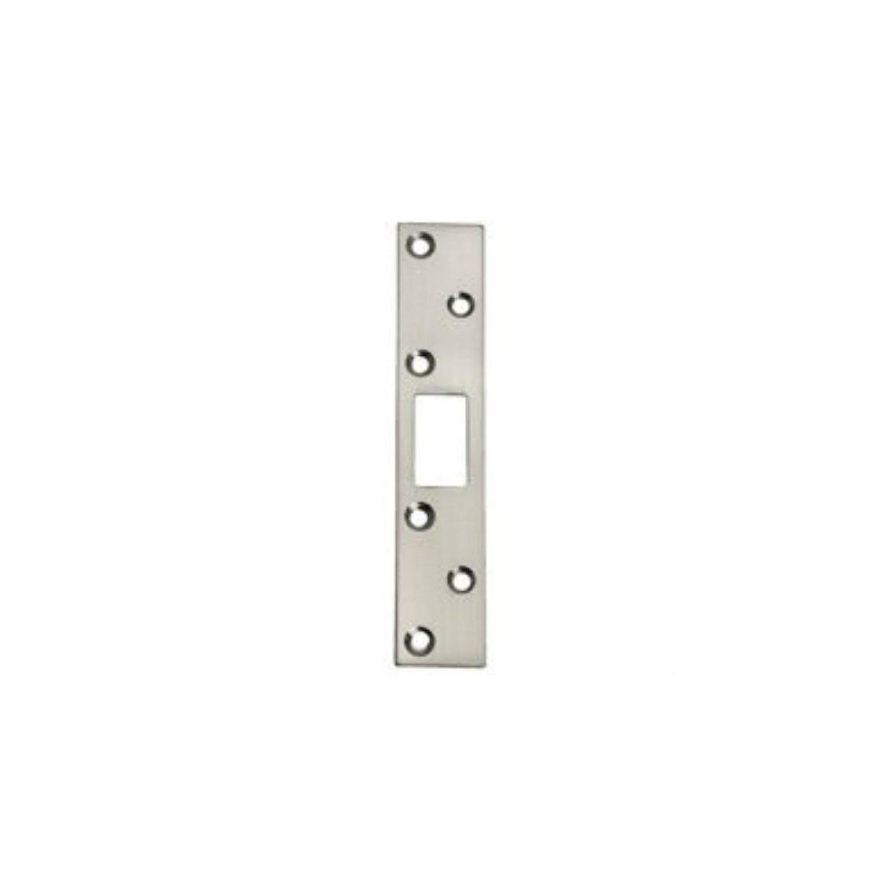 Mintcraft hsh-004bn Strike de seguridad, 1 - 1/8 x 15,24 cm, níquel cepillado: Amazon.es: Bricolaje y herramientas