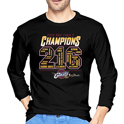 Men's Cleveland Cavaliers The Cavs 2016 Finals Champions Roster Long Sleeves T-shirts