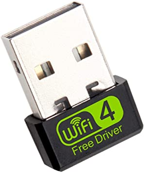 Youn 150Mbps Free Driver USB Wireless Adapter WiFi Receiver ...
