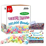 Lelix 110,000 Water Beads Growing Balls, Water Gel Beads for Kids Sensory, Vases, Plant, Wedding and Home Decor