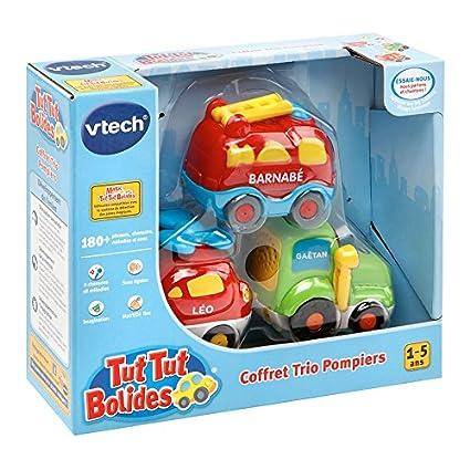 Vtech Tut Tut Bólidos - Conjunto de 3 Transportes (1-5 años),