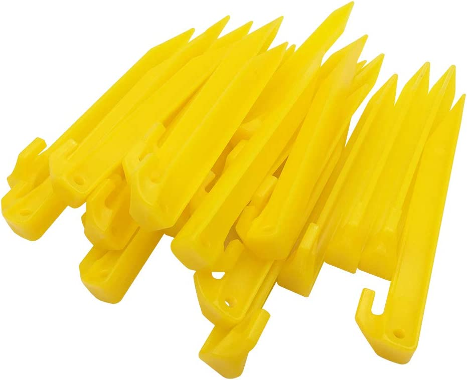 Variety Of Tent /& Awning Pegs Hard Ground /& Tuff Plastic Pegs. Wire