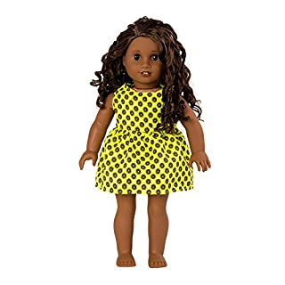 """7pcs Doll Clothes 1Shoes 1Bracelet 1Crown hair clip 1Hair ring for 18""""Dolls American Girl Dolls"""