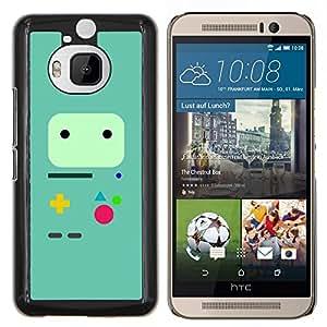 TECHCASE---Cubierta de la caja de protección para la piel dura ** HTC One M9+ M9 Plus ** --Controlador de juegos minimalista