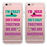 Best iPhone 6 Case friends phone case - TRFAEE Personality Best Friends BFF Couple Matching Partners Review