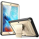 SUPCASE Ipad 9.7 Case 2018 / 2017, Heavy Duty [Unicorn Beetle Pro Series] Full-Body Rugged Protective Case With Built-In Screen Protector & Dual Layer Design For Apple Ipad 9.7 Inch 2017 / 2018 (Gold)