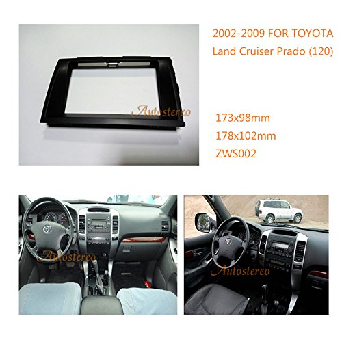 Autostereo Car Stereo Panel Plate Fascia Facia Surround Radio For LEXUS GX 470 TOYOTA Prado Car Radio fascia Facia Panel LEXUS GX 470 Stereo Fascia Dash CD Trim Installation Kit by Autostereo
