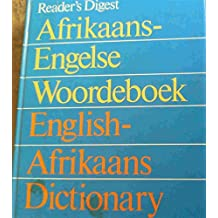 English/Afrikaans Dictionary