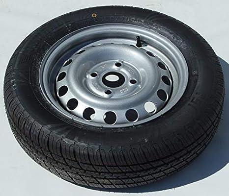 Rueda Completa 155/70 R13 para remolques de Carga 4X100 neumático Townhall: Amazon.es: Coche y moto