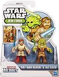 Star Wars Jedi Force 2Pk Obi Wan & Kit Fisto