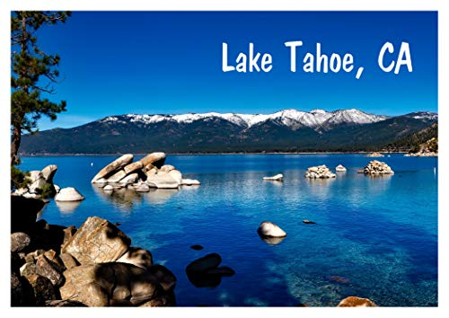 - Lake Tahoe, Mountains, Lagoon, Rocks, State Park, California, CA, Souvenir, Travel, Locker, Refrigerator Magnet 2 x 3 Fridge Magnet