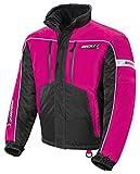 HJC Ladies Storm Snowboard, Snowmobile & Ski Jacket pink