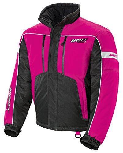 (HJC Joe Rocket Ladies Storm Snowboard, Snowmobile & Ski Jacket pink)