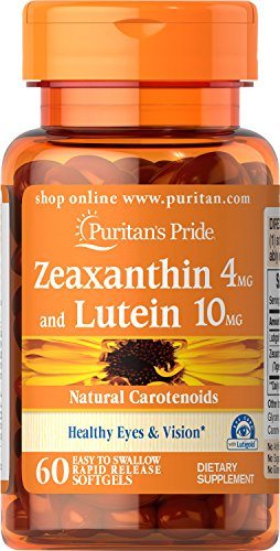 Puritans Pride Zeaxanthin 10mg 60 Softgels product image