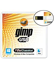 GIMP Photo Editor 2021 Compatible with Adobe Photoshop Elements CC CS6 CS5 15 Premium Professional Image Editing Software on USB for Windows 11 10 8.1 8 7 Vista XP PC & Mac - No Subscription Required!