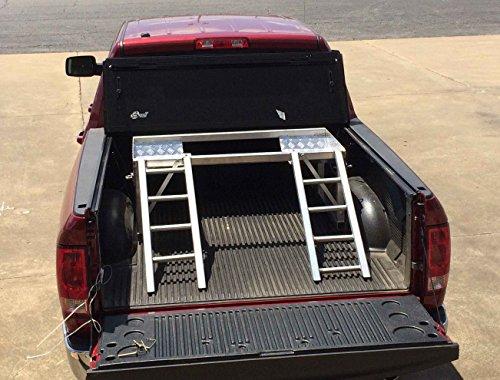 Aluminum ATV Riser for Pickup Trucks