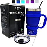 30 oz Tumbler - 6 Piece Stainless Steel Insulated Water & Coffee Cup