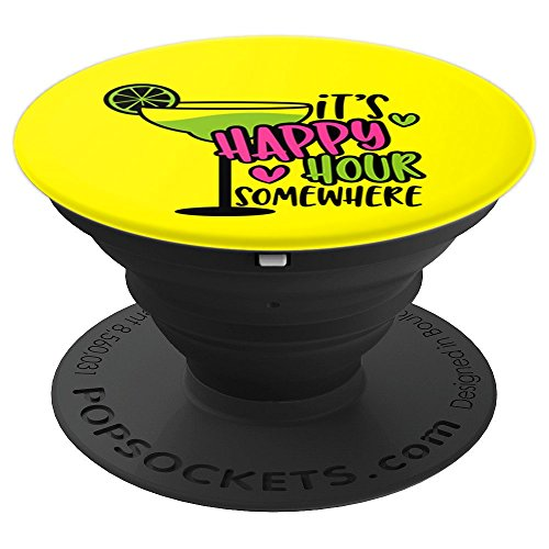 Its Happy Hour Somewhere Margarita Design - PopSockets Grip and Stand for Phones and Tablets