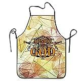 Siwbko Armor of God Christian Kitchen Cooking BBQ Apron