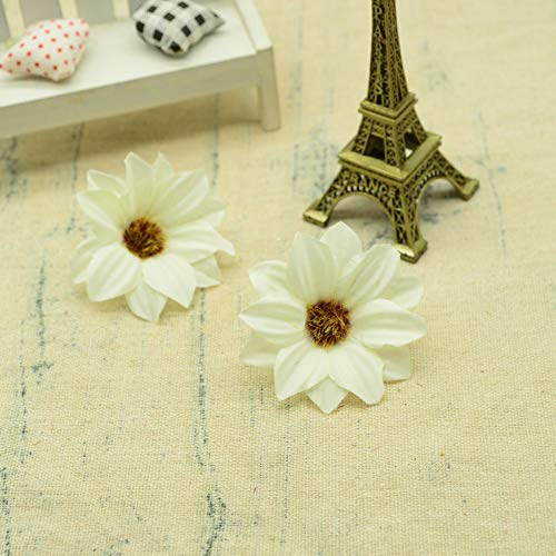 10pcs Silk Gerbera Christmas Decoration for Home Wedding Accessories Fake Daisy Flower Brooch DIY Gift Wreath Artificial Flowers