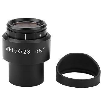 Wide Field Eyepiece Optical Telescope Eyepiece Telescope Eyepiece Lens 10X Microscope Eyepieces with Scale