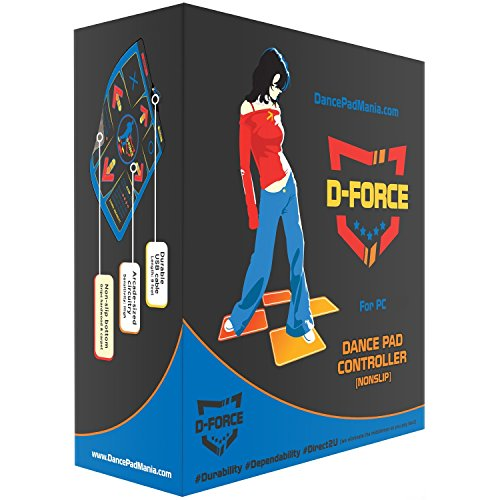 D-Force Nonslip USB Dance Pad (Ddr Pad)