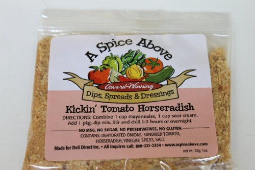 A Spice Above Kickin' Tomato Horseradish Horseradish Dip Mix