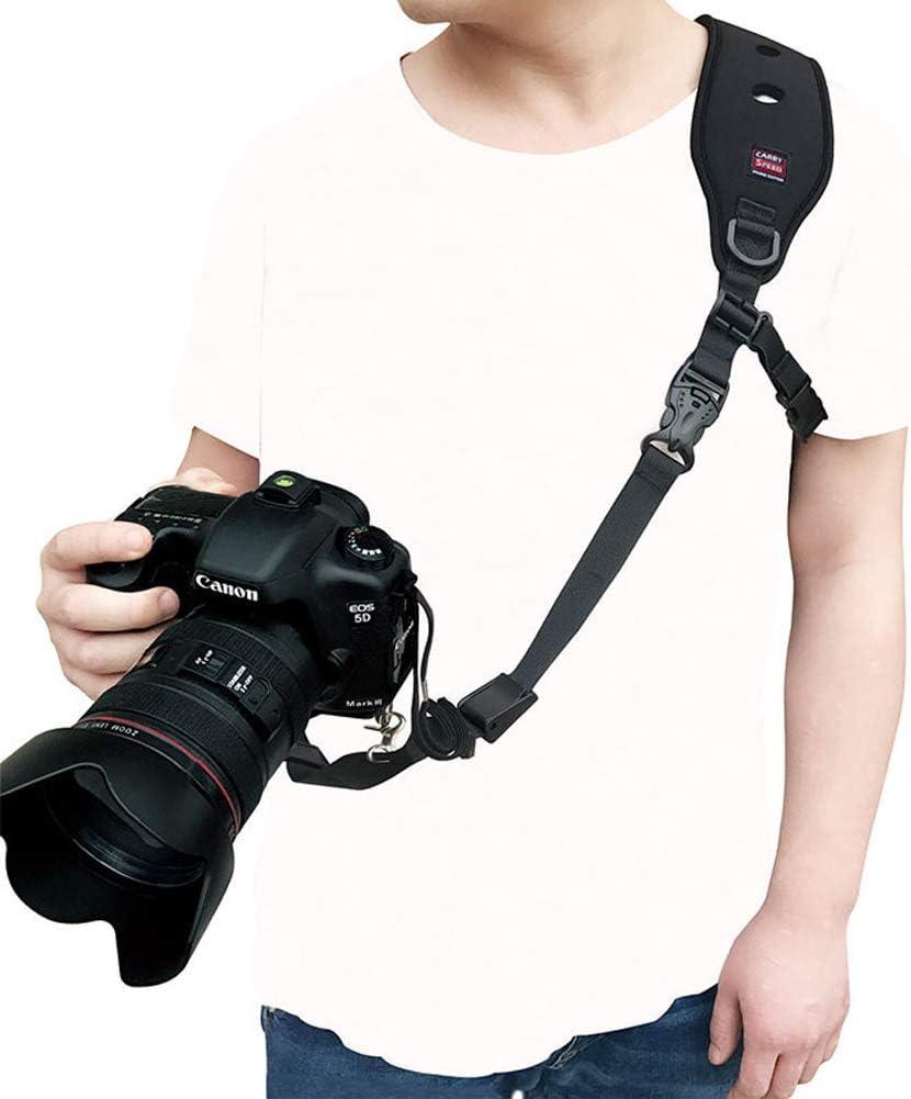 Rziioo Correa para cámara con Anclaje de Seguridad para cámara ...